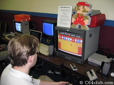 Nintendo NES retro gaming console setup - Commodore Computer Club
