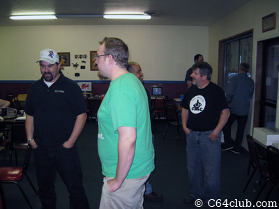 John Hancock, Jimmy, Ivan, Rick Weis, Dan and Michael - Commodore Computer Club