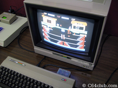 Popeye game cartridge C64 - Commodore Computer Club