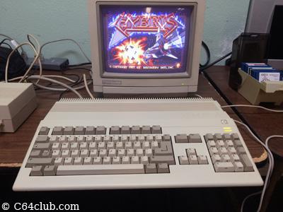 Amiga 500 A500 Hybris Game, 1084 Color Monitor - Commodore Computer Club