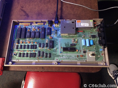 C64 Motherboard PCB Repair - Commodore Computer Club