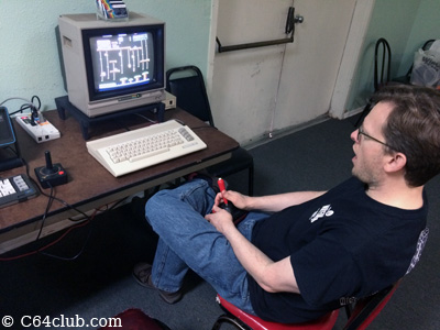 C64 Donkey Kong Junior Jr Homebrew Game - Commodore Computer Club