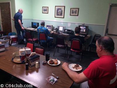 Pied Piper Pizza C64 Club Meeting - Commodore Computer Club