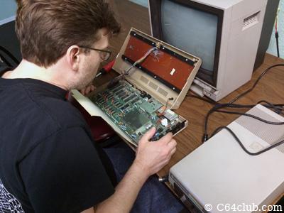 C64 Motherboard PCB Repair, Modifications and Hacks - Commodore Computer Club