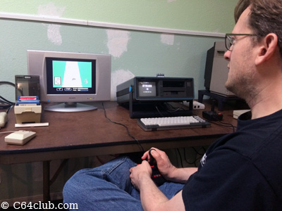 C64DTV, Portable C64 SX-64 Executive - Commodore Computer Club