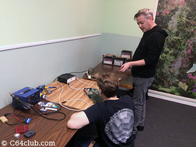 C64 PCB Repair and Hacking - Commodore Computer Club