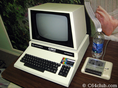 PET 8032 with CN2 cassette unit - Commodore Computer Club
