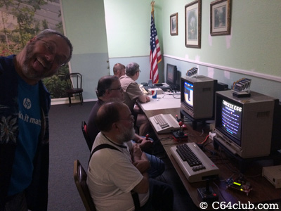 C64 Club Members and Friends - Commodore Computer Club