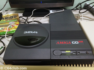 Amiga CD32 - Commodore Computer Club