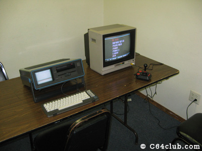SX-64 and a C64DTV - Commodore Computer Club