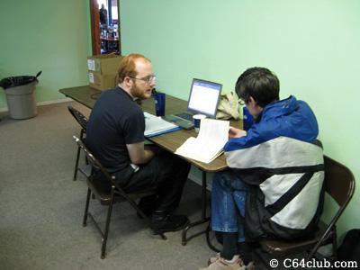 Gordon Steemson and Ryan Sherwood bus extender project - Commodore Computer Club
