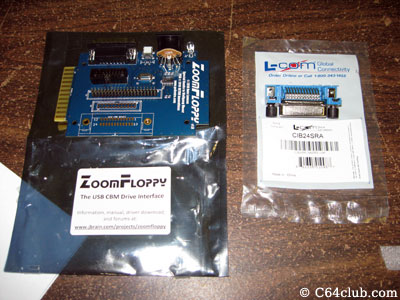 ZoomFloppy IEEE Port - Commodore Computer Club
