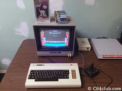 VIC-20 Mega-Cart Dragonfire Game - Commodore Computer Club