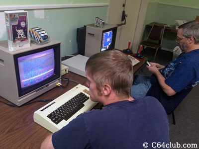 Mike, Tommy, VIC-20, C64 - Commodore Computer Club