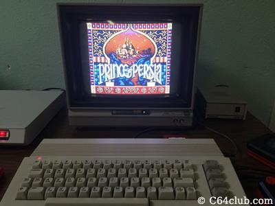 Prince of Persia C64 Game - Commodore Computer Club