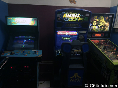 Simpson's Arcade, Rush 2049, Shrek Pinball - Commodore Computer Club