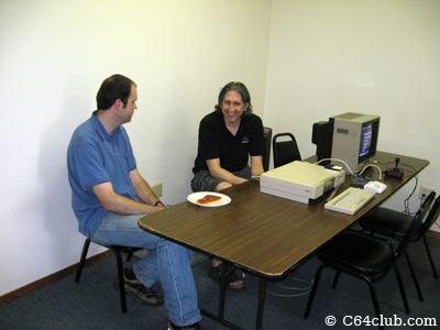 Dan shows off his Amiga 1000 - Commodore Computer Club