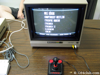 C64DTV on a Commodore 1702 monitor - Commodore Computer Club