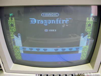 Imagic Dragonfire on the VIC-20 - Commodore Computer Club