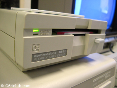 1581 Disk Drive - Commodore Computer Club