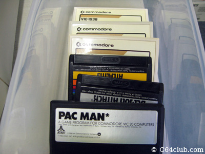 Commodore VIC-20 cartridges - Commodore Computer Club