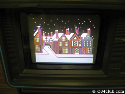 SX-64 Christmas demo via Commodore SX-64 demo disk - Commodore Computer Club