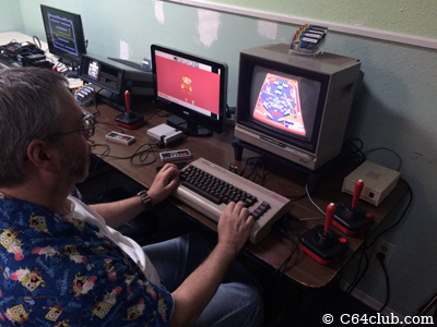 C64 Pinball - Commodore Computer Club