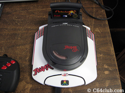 Atari Jaguar CD Console - Commodore Computer Club
