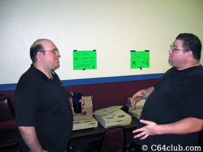 Jeff and Sal with Amiga 3000's - Commodore Computer Club