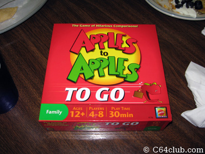 Apples To Apples Card Game - Commodore Computer Club