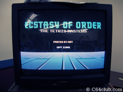 Ecstasy Of Order Tetris Masters Robin Mihara - Commodore Computer Club