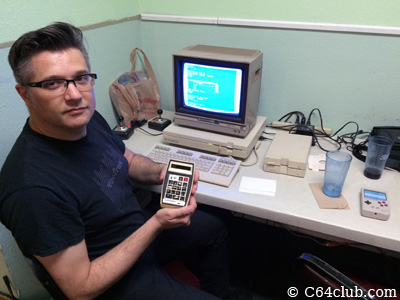 C128D DCR, Calculator - Commodore Computer Club
