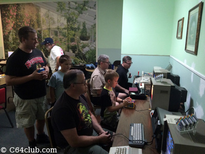 C64 Friends Retro Video Game Time - Commodore Computer Club