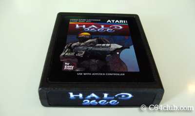 Halo 2600 for the Atari 2600 - Commodore Computer Club