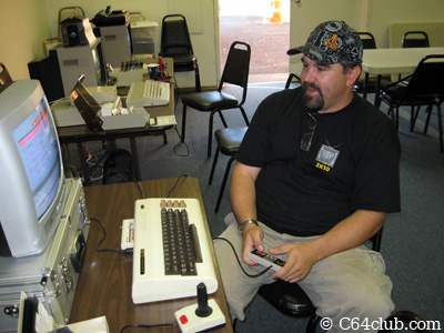 The Immortal John Hancock VIC-20 Mega-Cart demo - Commodore Computer Club