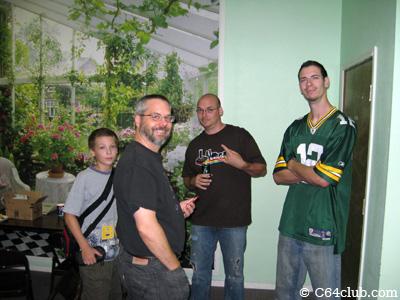 Members representing - Commodore Computer Club