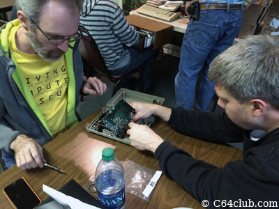 Tinker Time with Kevin Savetz and Paul - Commodore Computer Club