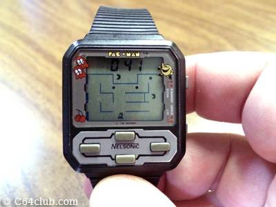 Vintage Pac-Man Wrist Watch - Commodore Computer Club
