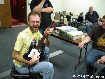 Kevin Savetz playing Shredz64 - Commodore Computer Club