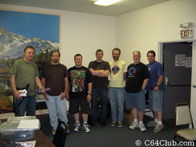 Group Photo - Commodore Computer Club