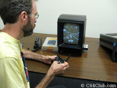 Pole Position on the Vectrex