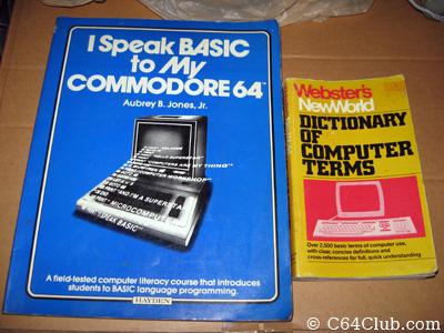 Commodore 64 books - Commodore Computer Club
