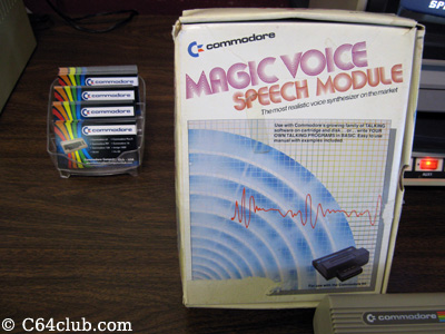 C64 Magic Voice Speech Module - Commodore Computer Club