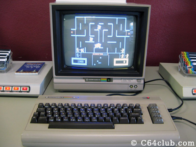 Commodore 64 Wizard of Wor game - Commodore Computer Club