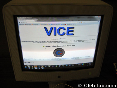 VICE C64 Emulator - Commodore Computer Club