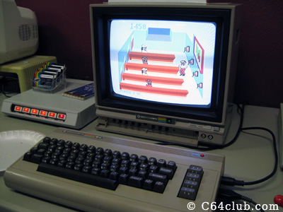 Tapper game for the Commodore 64 - Commodore Computer Club