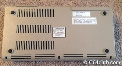 Commodore 64 Silver Label Serial Number - Commodore Computer Club