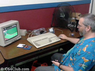 Tommy, Amiga 500 Zany Golf - Commodore Computer Club