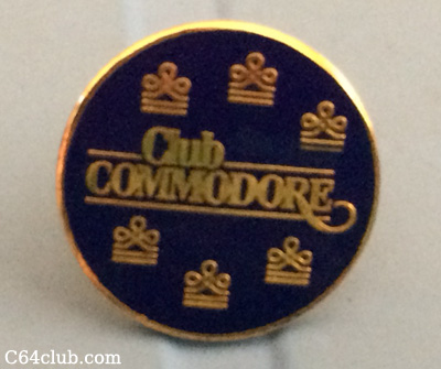 Kevin Savetz Club Commodore Pin - Commodore Computer Club