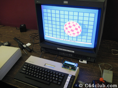 Atari 800XL emulating Amiga boing ball - Commodore Computer Club